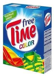 <b>Стиральный порошок Free Time</b> Color (автомат) — купить по ...
