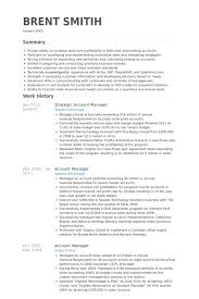 strategic account manager resume samples   visualcv resume samples    strategic account manager resume samples