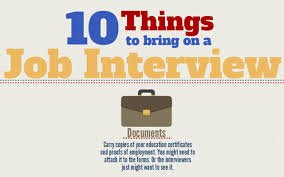 10 things to bring to every job interview infographic cob 10 things to bring to every job interview infographic