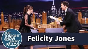 Felicity Jones Demos Her Badass Star Wars Fight Moves on Jimmy ...