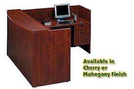 bow front l shaped reception desk sale bow front reception counter office