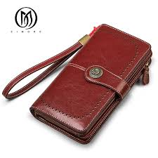 EIMORE <b>Women Clutch 2019 New</b> Wallet Split Leather Wallets ...