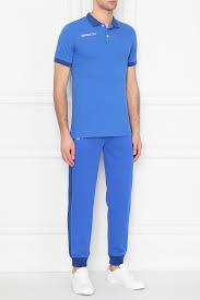 Голубое хлопковое <b>поло Bosco</b> Fresh – купить в интернет ...