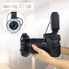 <b>Camera LED fill light</b> ring flash led photography light SLR camera ...