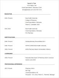 sample pharmacist resume template free download free downloadable resume formats