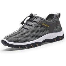 <b>Mens</b> Outdoor Hiking <b>Breathable</b> Sneakers Hollow Out Climbing ...