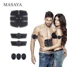 Buy <b>Abdominal Muscle Training Device</b> Wireless Muscle Toning Belt ...