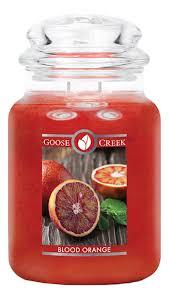 <b>Ароматическая свеча</b> Blood <b>Orange</b> (Красный апельсин) Goose ...