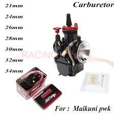 2019 <b>Universal PWK 21 24</b> 26 28 30 32 34mm Carburetor For ...