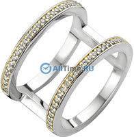 Серебряное <b>кольцо Ti Sento 1992ZY</b>, размер 17 мм