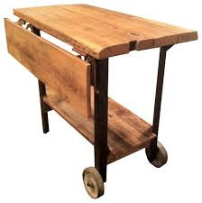 leaf kitchen cart: small black kitchen cart with drop leaf big lots