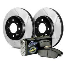 StopTech 928.67037 Select Sport Axle <b>Pack 2</b> Drilled & Slotted ...