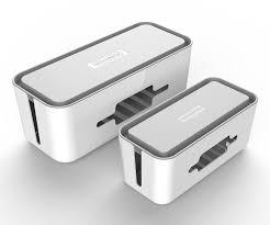 <b>NTONPOWER RMB Hard Plastic</b> Desk Organizer Cable Winder ...