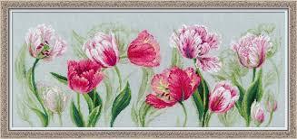 100/052 «<b>Весенние тюльпаны</b>