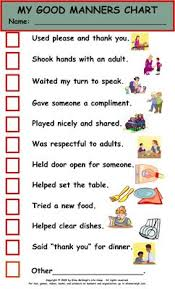 future children  charts and ticks on pinterestelise mcveigh life camp my good manners chart