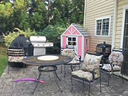 spray painted outdoor patio furniture the daily starr makeover monday painting old patio furniture valspar s