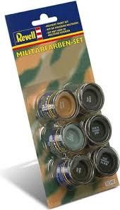 Revell <b>Enamel</b> Color - Military <b>Paint</b> Set, <b>1 set</b> - 3DJake Online Shop ...