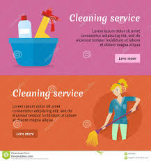 cleaning service advertisement cards set poster stock vector cleaning service advertisement cards set poster