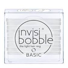 <b>invisibobble</b>® The Light Hair Ring 10 Pack <b>BASIC Crystal Clear</b> ...