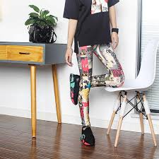 Fashion Women's Leggings Sexy Casual Cashmere Skinny Leather ...