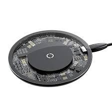 <b>Беспроводная зарядка Baseus</b> Simple Wireless Charger прозрачная