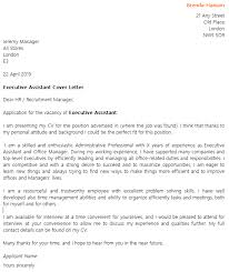 yours sincerely executive assistant cover letter executive assistant cover letter