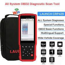 <b>Launch X431</b> CRP429 <b>Full System</b> OBD2 Code Reader Auto ...