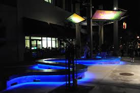 bench shade structure night lighting 2 bench lighting