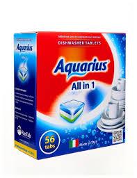 <b>AQUARIUS</b> All in 1 <b>таблетки для</b> посудомоечной ма... — купить по ...
