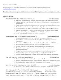 technician resume  network technician resume sample  medical lab    technician resume