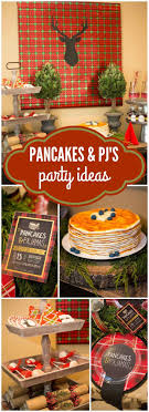 best ideas about christmas party themes check out this rustic pancakes and pajamas party in plaid and burlap see more party ideas at pancakes plaid lol