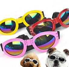 <b>Fashion Pet Dog Goggles</b> Stylish UV Sunglasses Doggie Puppy ...