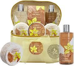 Bath and Body Gift <b>Basket For</b> Women – <b>Warm</b> Vanilla Sugar Home ...