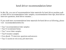 Sample Application Letter For Employment As A Driver   Cover