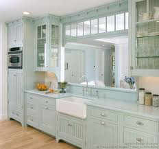 sunday best kitchen of the week a victorian style kitchen with light baby blue cabinet kitchen lighting