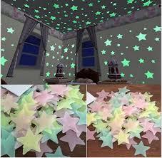 LESUPERAY <b>100pcs</b> bag 3CM <b>Fashion</b> Wonderful Solid Stars Glow ...
