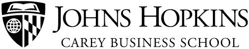 Image result for johns hopkins carey business school logo
