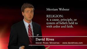 is evolution science or religion david rives or religion david rives