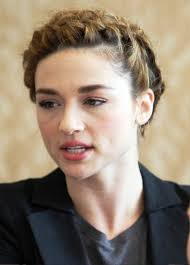 Crystal Reed French Braided Updo. Is this Crystal Reed the Actor? Share your thoughts on this image? - crystal-reed-french-braided-updo-1037451256