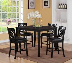 Black Dining Room Chairs Piece X Dining Room Set Black Brooklyn Black Dining Room Set