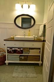 open bathroom vanity cabinet: diy custom craft desk the owner builder network middot dresser bathroom vanitiesopen