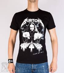 "<b>Футболка</b> Metallica Cliff <b>Burton</b> ""Cliff 'Em All"" — <b>Футболки</b> — Рок ..."