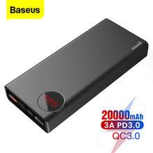 <b>Портативное зарядное устройство Baseus</b>, 20000 мАч, USB C ...