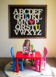 letters kids room youre
