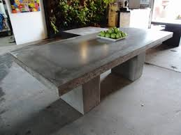 classic modern cement table design simple furniture for outdoor cement furniture