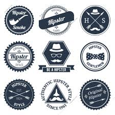 <b>Hipster</b> Smoke <b>Original</b> Authentic <b>Style</b> Labels Vector Illustration 5875
