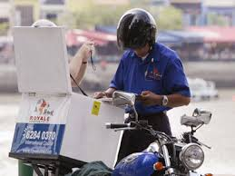 Image result for Courier service delivery officer
