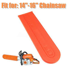 "Saw <b>Chainsaw Bar</b> Cover Protect Protective Fits <b>14""-16</b>"" <b>Chain</b> ..."