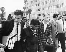 easy essays photographs of leroy chatfield bull gallery acirc syndic ufw attorney jerry cohen and leroy chatfield escort cesar chavez from the kern county courthouse during cesar s 1968 fast for nonviolence