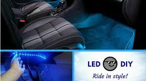 Installing <b>LED</b> Lights In My <b>Car</b>   <b>Car Atmosphere</b> Lights   Easy ...
